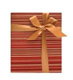 boże narodzenie pudełkowaty prezent Fotografia Royalty Free