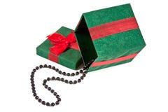 boże narodzenie pudełkowaty prezent zdjęcie royalty free