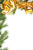 boże narodzenie rabatowa zieleń Obrazy Royalty Free