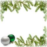 Boże Narodzenie rama Obrazy Royalty Free