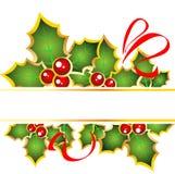 Boże Narodzenie rama Obraz Royalty Free