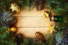 Boże Narodzenie rama zdjęcia stock
