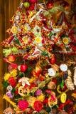 Boże Narodzenie rynek Zdjęcie Royalty Free