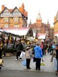 Boże Narodzenie rynek Obraz Royalty Free