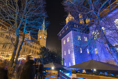 Boże Narodzenie rynek w Braunschweig Obraz Stock