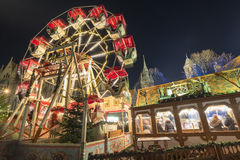 Boże Narodzenie rynek w Braunschweig Obrazy Royalty Free