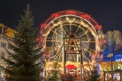 Boże Narodzenie rynek w Braunschweig Zdjęcia Stock