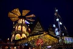 Boże Narodzenie rynek w Wrocławskim zdjęcie stock