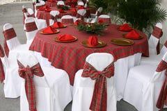 Boże Narodzenie stół Zdjęcia Stock