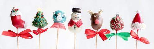 Boże Narodzenie torta wystrzały Obraz Stock