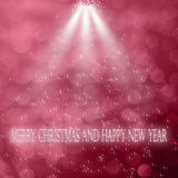 boże narodzenie w nowym roku obraz stock
