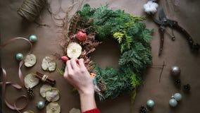 Boże Narodzenie wianek zbiory