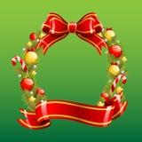 Boże Narodzenie wianek Obraz Stock