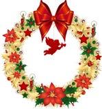 Boże Narodzenie wianek Zdjęcia Royalty Free