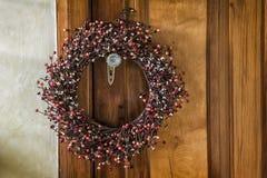 Boże Narodzenie wianek Fotografia Stock