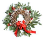 Boże Narodzenie wianek Zdjęcie Stock