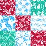 Boże Narodzenie wzór 1 Zdjęcia Stock