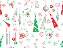 Boże Narodzenie wzór Zdjęcie Stock