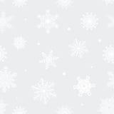Boże Narodzenie wzór płatki śniegu Obraz Royalty Free