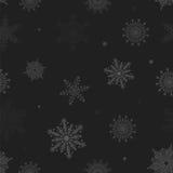 Boże Narodzenie wzór płatki śniegu Ilustracji