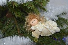 Boże Narodzenie zabawka w postaci anioła Zdjęcie Stock
