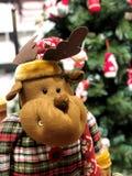 Boże Narodzenie zabawki w najlepszy widoku obraz royalty free