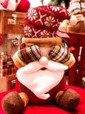 Boże Narodzenie zabawki w najlepszy widoku zdjęcia stock