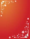 boże narodzenie zawijasy uświęconi czerwoni Fotografia Royalty Free