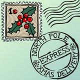 boże narodzenie znaczki ilustracja wektor