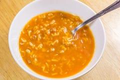boże początkująca listu zupa była słowo Fotografia Royalty Free