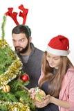Bożego Narodzenia życzenie Obraz Royalty Free