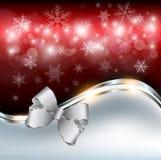 Bożego Narodzenia abstrakcjonistyczny tło Fotografia Stock
