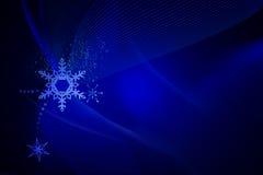 Bożego Narodzenia błękitny tło Obrazy Stock
