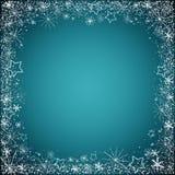 Bożego Narodzenia błękitny tło Zdjęcia Royalty Free