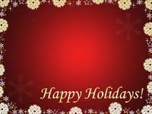 Bożego Narodzenia czerwony tło Ilustracja Wektor