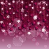 Bożego Narodzenia czerwony tło Fotografia Royalty Free