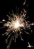 bożego narodzenia płonący sparkler Obrazy Stock