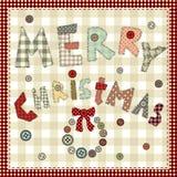 Bożego Narodzenia wesoło tło Obrazy Royalty Free