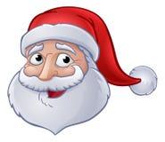 Bożenarodzeniowa Święty Mikołaj kreskówka Obrazy Royalty Free