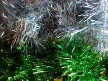 Bożenarodzeniowa świecidełko dekoracja dla świątecznego nowego roku lub tła Białe menchie i zdjęcia royalty free