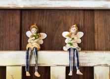 Bożenarodzeniowa anioł dekoracja Zdjęcie Stock