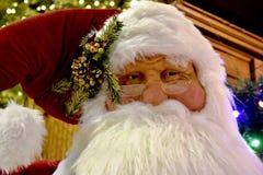 Bożenarodzeniowa dekoracja, Święty Mikołaj Mannequin zdjęcia royalty free