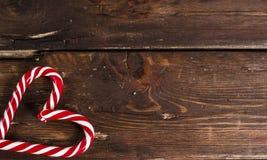 Bożenarodzeniowa dekoracja na drewnianych deskach obraz stock