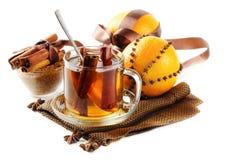 Bożenarodzeniowa herbata zdjęcia stock