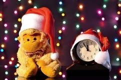Bożenarodzeniowa kapelusz małpa Bożenarodzeniowa dekoracja z dziąsłami Obraz Royalty Free