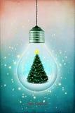 Bożenarodzeniowa lampa royalty ilustracja