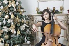 Bożenarodzeniowa muzyka obrazy royalty free