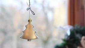 Bożenarodzeniowa nowy rok dekoracja grabą zdjęcie wideo