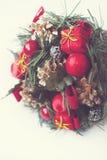 Bożenarodzeniowe świąteczne dekoracje Obraz Stock