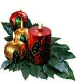 Bożenarodzeniowe świeczki Zdjęcie Stock
